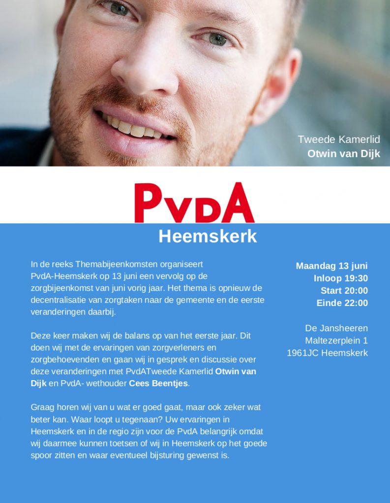 Zorgbijeenkomst 2 - PvdA-Heemskerk